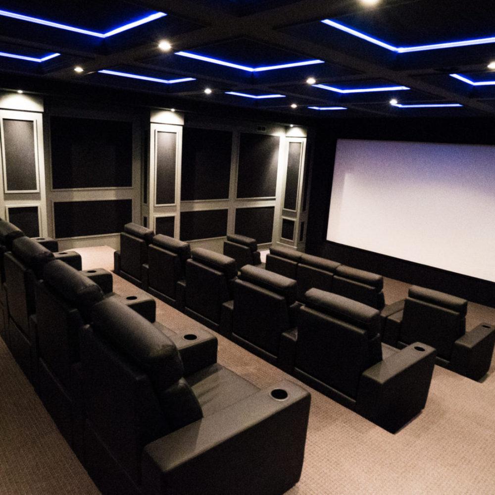 Arcadia Theater Room