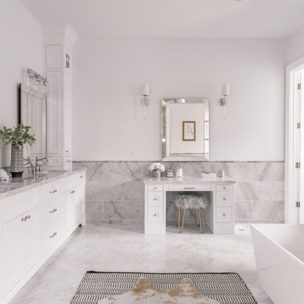 Nantucket Master Bathroom